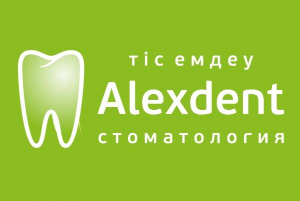 Логотип Alexdent