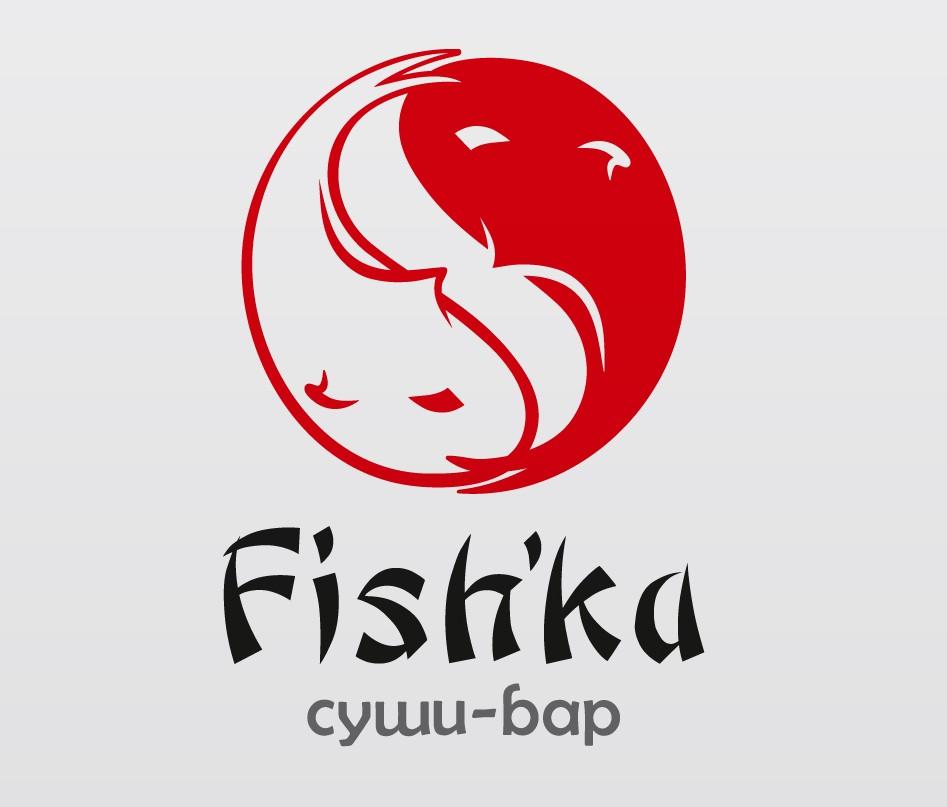 Лого суши-бара Fishka