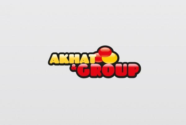 Логотип Akhat Group