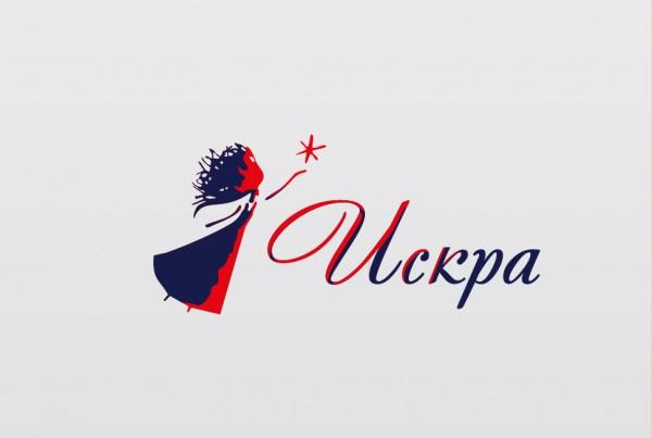 Логотип Искра