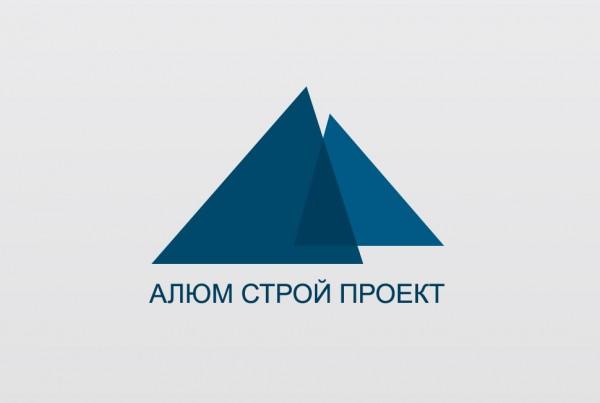 Логотип Алюм Строй Проект