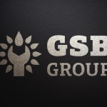 Логотип GSB Group монохром