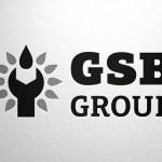 Логотип GSB Group серый