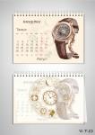 millenary 4101 audemars piguet юбилейные часы август august 2013 календарь премьер 2013 premier calendar