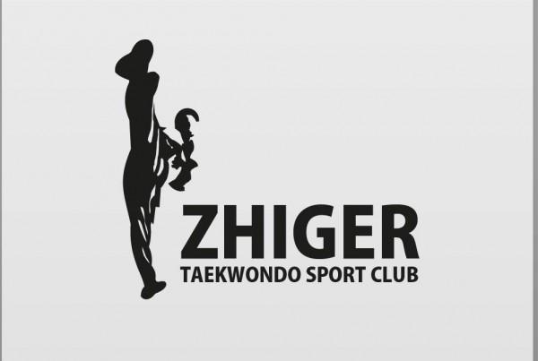 логотип жигер zhiger тхэквондо taekwondo бимов даулет