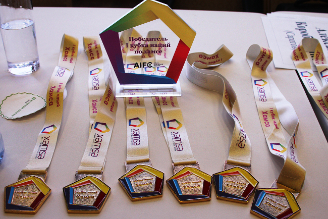 хамса, медаль, литье, медали алматы