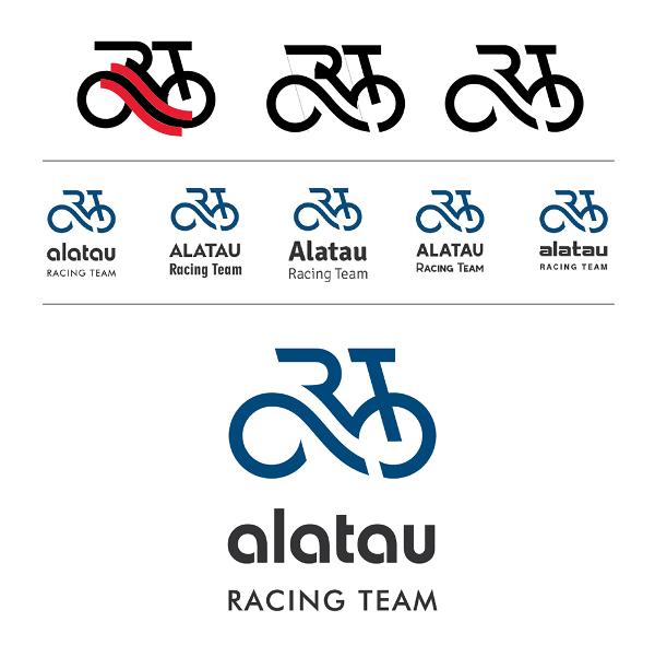 Создание логотипа. Alatau racing team.