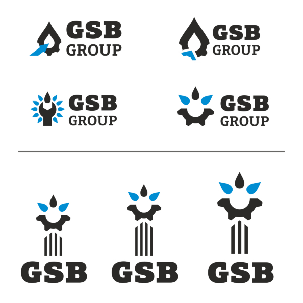 Создание логотипа. GSB Group