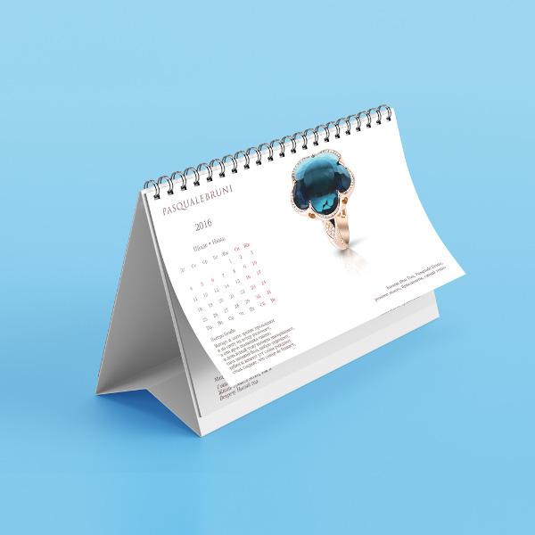 Настольные календари, перекидные