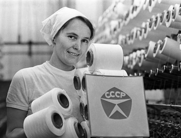 работница текстильной фабрики