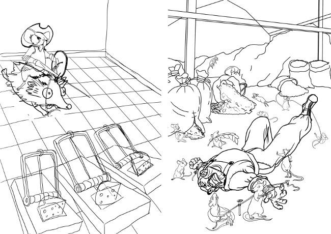 Мышь и мышеловки