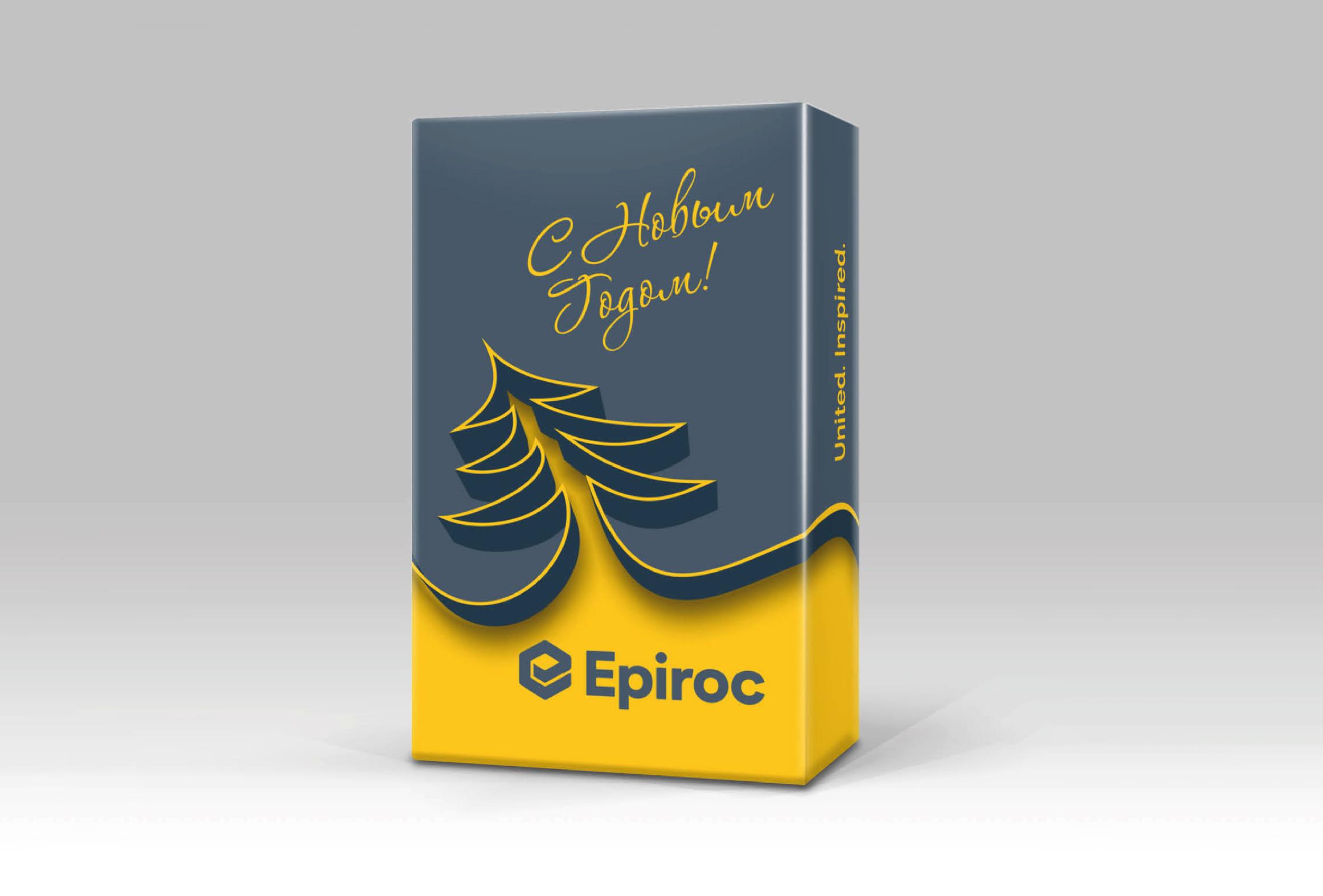 Epiroc, дизайн, корпоратив, посадочный билет, алматы, полиграфия