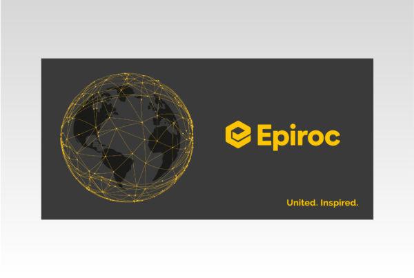 Epiroc, выборочная лакировка, алматы, полиграфия, дизайн