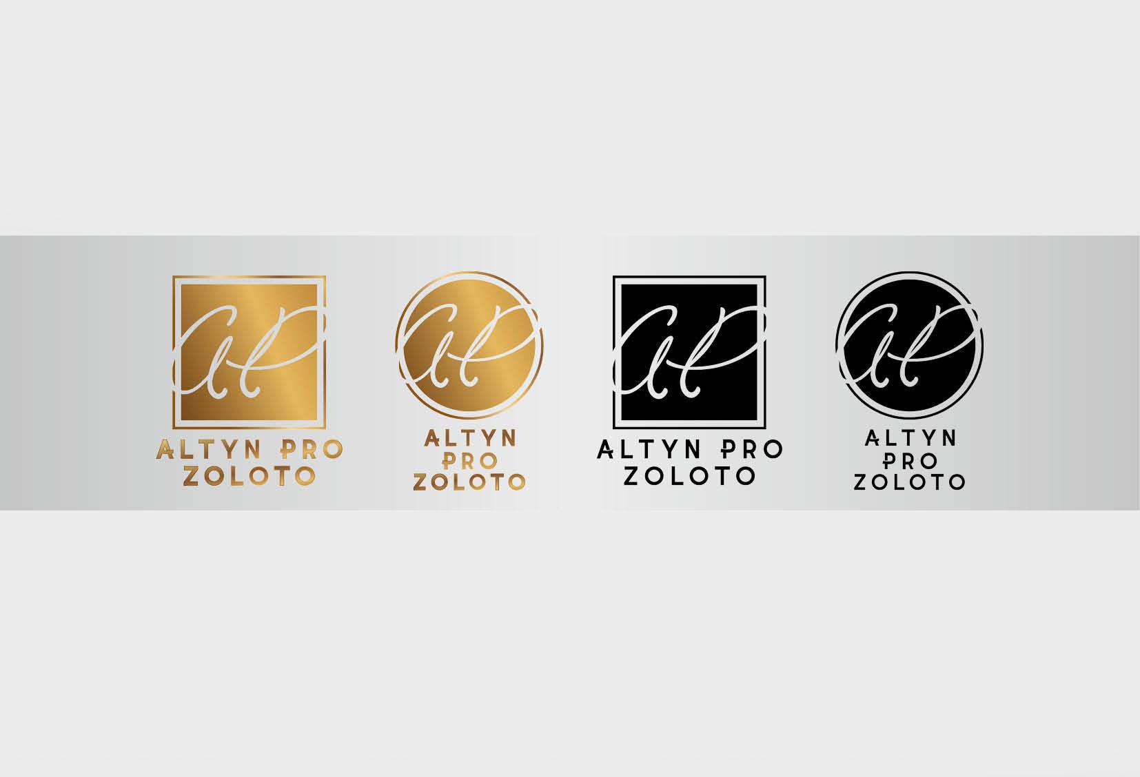 Разработка логотипа, Altyn proалматы,