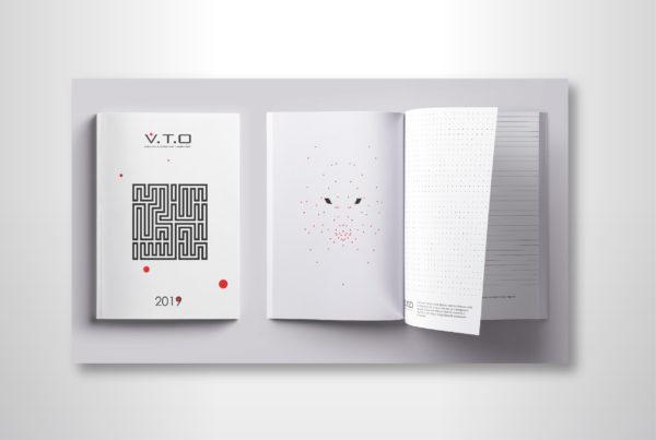 дизайн плокнота, mock up, VTO, полиграфия алматы, рекламное агентство
