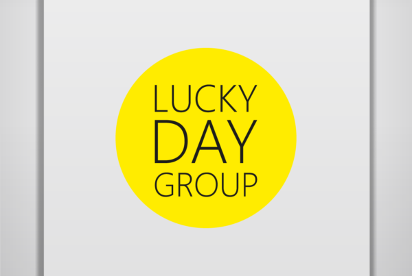 Lucky day group, логотип, разработка логотипа алматы, дизайн логотипа алматы