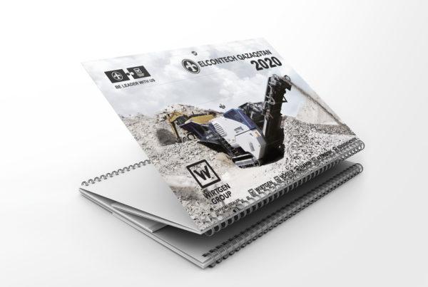 Elcontech, календарь, алматы, полиграфия, дизайн, верстка